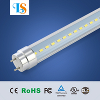 1.5m 5ft 45 inch rotating t8 led tube light 24w 25w 30w linear light tubes with 3 years warranty