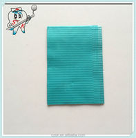 manufacturer Dental water green Disposable Medical Dental Bib