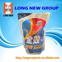 Plastic Bag Packing for Liquid Detergent