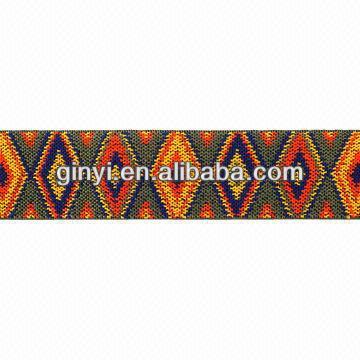 polyester jacquard elastic webbing