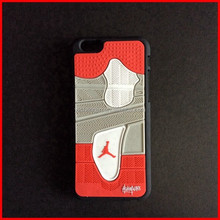 Jordan 4 Rubber 3D Bottom Sole Sneaker Cell Phone Case For 4.7inch