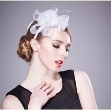 White PP Bulk Fancy Hair Accessories For Women