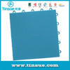 Flat grid PP outdoor sports flooring for badminton courts
