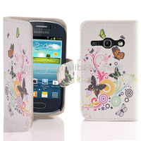 FLIP WALLET LEATHER CASE COVER FOR SAMSUNG GALAXY FAME S6810