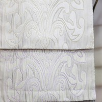 Different colors supply hanging door jacquard window fabric curtains