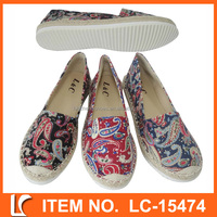 china wholesale new style women canvas shoes