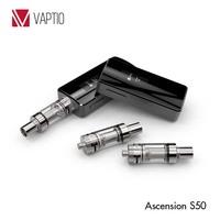 Vaptio top vapes Ascension S50 3 pins 510 structure Ni 200 accurate temperature control big battery mod e-cigarette