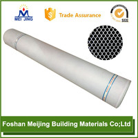 mosaic polyester mesh remy human hair extensions and mesh enclosure for paving mosaic