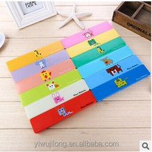 Best selling Candy color plastic pencil case good for school