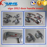 Pick up Toyota Hilux HILUX VIGO 2013 Door Handle Insert handle cover NEW CHROME ACCESSORIES best selling car accessories