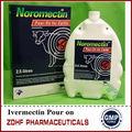 Líquido de ivermectina 100ml para gado/parasita ivermectina medicina para o cão em medicina veterinária