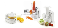 120W 3 in 1 function food processor with thin slicer blade GS/CE/ROHS