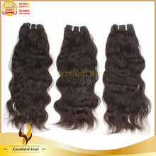 2015 Hot Selling Blends Well with Your Own Hair Virgin Brazilian Loose Wave Hair