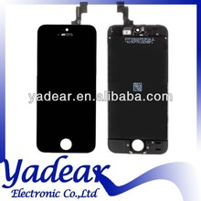 100% Good Quality For Apple iphone 5 s 5S LCD Touch Screen Display Digitizer Assembly White / Black Color