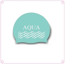 High quality silicone caps/printed silicone swimming caps