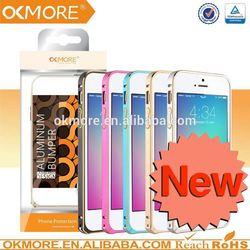 Good 2014 best selling metal aluminum bumper case for iphone5s
