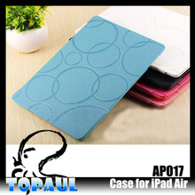 top quality PU Screen protector case for iPad Air