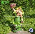 precioso jardín gnome resina traje de hadas