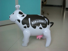 Cartoon Inflatable Dairy Cow,inflatable dairy cattle models advertsing animal