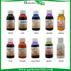 2015 getbetterlife Alcohol based temporary airbrush tattoo paint set /airbrush tattoo ink/airbrush pigment