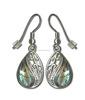 genuine shell jewelry New Zealand Abalone heart earring jewelry for women abalone shell earrings