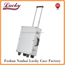 aluminum truck tool case portable metal tool box with wheels