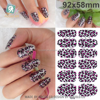Y5016/3d Sparkle Nail Art Effects Strips Decal Wrap Polish Stickers Decoration