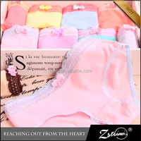 2015 New Arrival Fashionable Cotton Sexy Young Sweet Teen Slim Girl Hot Panty