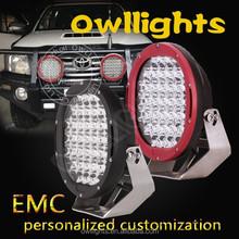 9'' 185w led driving light round 4x4 , auto parts 185w led driving light,185w led work light boat