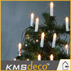 IP20(ID) battery operated led light candle christmas tree decoration