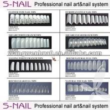 color nail tip artificial nail nail art design pictures