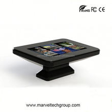 interactive mutil touch screen dinning table tea