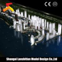 Architectural Model of Public Design, new product attractive plastic block