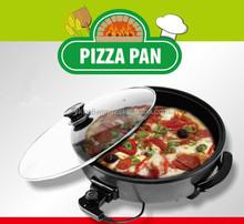 DUBAI market GFK-42CM electric pizza maker 1500W220V50HZ pizza grill fryer pan