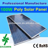 Good quality 100w poly the best lowest price power solar panel malaysia price