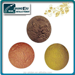 Yinjian ZG-1420 sparkling metallic gold powder for paint and inks