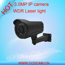IP66 waterproof WDR 3D -DNR varifocal lens laser Low Lux long IR range real time 3MP onvif cctv IP camera for security system