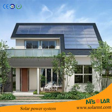 20kw monocrystalline silicon solar panels system for 220V to 380V solar sine wave power inverter with charge