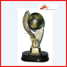China supplier resin sports awards champions league trophy