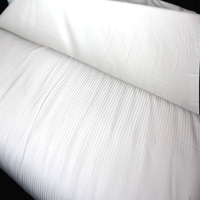 China Manufacturer 100% Polyester Woven Imitation Silk Shirt Fabric