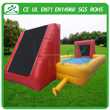 2015 inflatable water soccer pitch, inflatable football soap field, inflatable football field