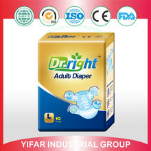 Disposable adult diapers for old people ship to America market
