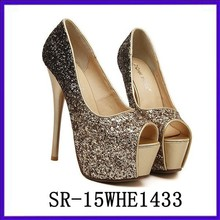 ladies glitter heels gold stiletto heels platform stiletto girls high heels