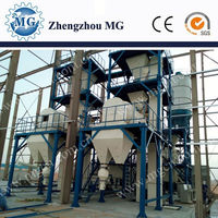 Latest technology Chinese product full automatic dry mixing mortar production line for construction on alibaba export hot sale