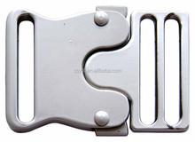 metal adjustable side release buckle