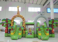 2016 guangzhou inflatable Funcity GK-FN24 ,new commercial inflatable bouncer /inflatable jumping house/cheap bouncy