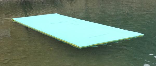 Eva Foam Water Play Mat For Lakes Floating Foam Mat Recreation Sunray Pool Float Swimming Pool
