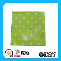 How Colorful Folded Paper Napkins With Logo At Weddings