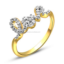 High Quality diamond love ring for lady JR7961-WWY
