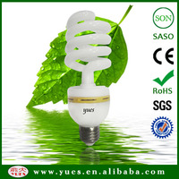 Youdau factory direct sale 40W half spiral energy saver lamp with CE ROHS